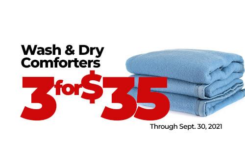Wash & Dry Comforters